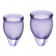 FEEL CONFIDENT MENSTRUAL CUP - LILAS
