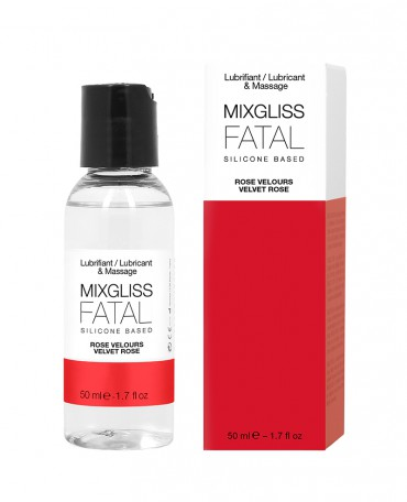 MIXGLISS SILICONE - FATAL - ROSE VELOURS 50 ML