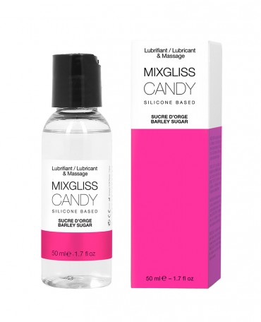 MIXGLISS SILICONE - CANDY - SUCRE D'ORGE 50 ML