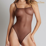 CORPS A CORPS BODY STRING - CHOCO/ORANGE FLUO/OR