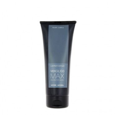 WATER-BASED MIXGLISS - MAX UNSCENTED 70 ML/2.37 FL OZ