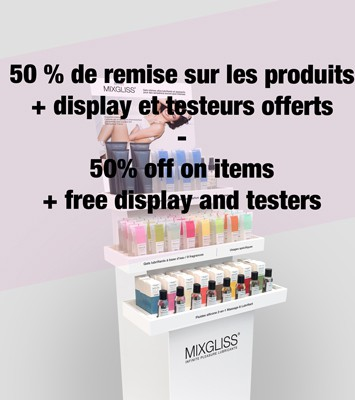 PACK OFFER MIXGLISS DISPLAY COLLECTION