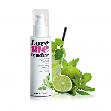 LOVE ME TENDER - LUSCIOUS & HEATING OIL MOJITO