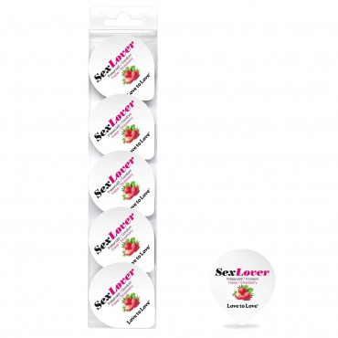 SET OF 5 STRAWBERRY SEX LOVER