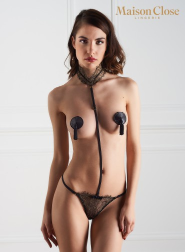 LES PROVOCANTS / PASTIES / BLACK / ONE SIZE