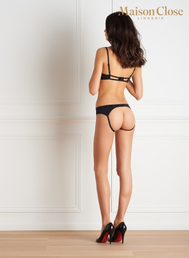 LE PETIT SECRET - NAKED SHORTY - BLACK