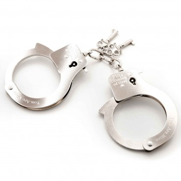 YOU ARE MINE - METAL HANDCUFFS
