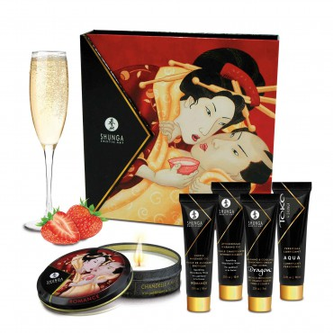 GEISHA SECRET KIT - SPARKLING WINE STRAWBERRY