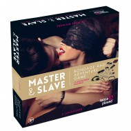 MASTER AND SLAVE PREMIUM - BDSM KIT - TIGERPRINT