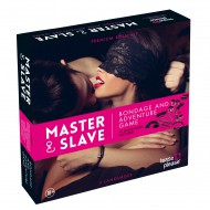 MASTER AND SLAVE PINK PREMIUM - BDSM KIT - TIGERPRINT PINK
