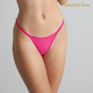 CORPS A CORPS NEON - THONG - NEON PINK/GOLD