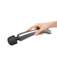 MEGAWAND CHROME SILVER - RECHARGEABLE WAND