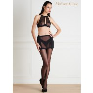 PURE TENTATION GIRDLE NAKED BACK WITH SUSPENDERS
