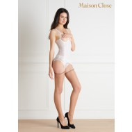 LA DIRECTRICE NAKED BREAST COMBINAISON - WHITE