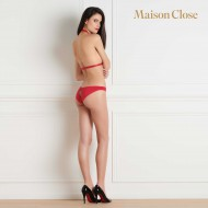 TAPAGE NOCTURNE PANTY - RED