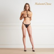 INSPIRATION DIVINE OPENABLE THONG