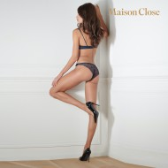 Culotte Maison Close Villa Satine Marine
