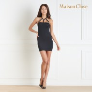 TAPAGE NOCTURNE DRESS - BLACK