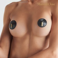 LES FETICHES - NIPPLE COVERS - BLACK - ONE SIZE