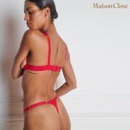 TAPAGE NOCTURNE MINI THONG - RED