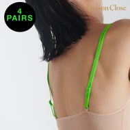 SIGNATURE - BODY STRAPS - NEON GREEN - PACK OF 4 X 1 PAIR