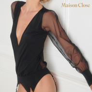 MADAME REVE TOP WITH SUSPENDERS