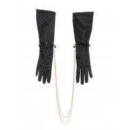 LE BAISE MAIN - GLOVE BLACK/GOLD - MC AND FRAULEIN KINK