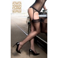 NYLON STOCKINGS BLACK 15D