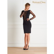 LA DIRECTRICE DRESS - BLACK