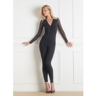 PURE TENTATION CATSUIT LONG SLEEVES