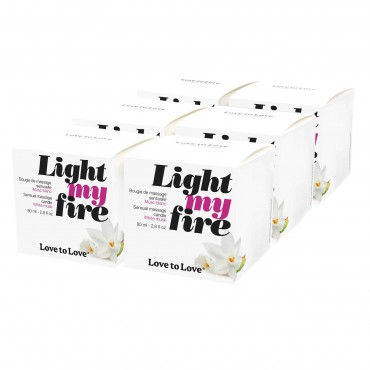 LIGHT MY FIRE - MUSC BLANC 80ML X6