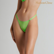 CORPS A CORPS NEON MINI STRING - VERT FLUO/OR