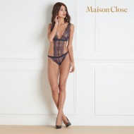 Body string triangle Maison Close Villa Satine Marine